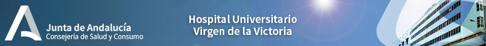 Hospital Universitario Virgen de la Victoria. Servicio Andaluz de Salud. Consejería de Salud. Junta de Andalucía