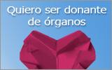 Quiero ser donante de órganos