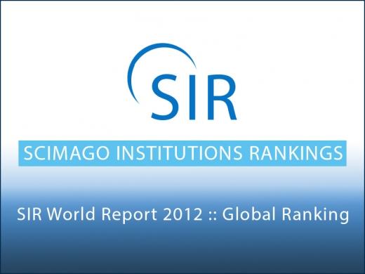 El Hospital Universitario Virgen de la Victoria en el SIR World Report 2012