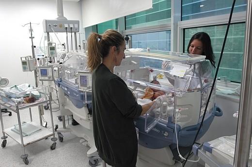 Profesionales de la Unidad de Neonatología