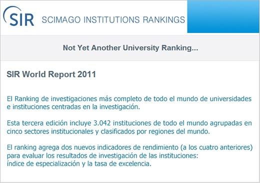 SIR World Report 2011