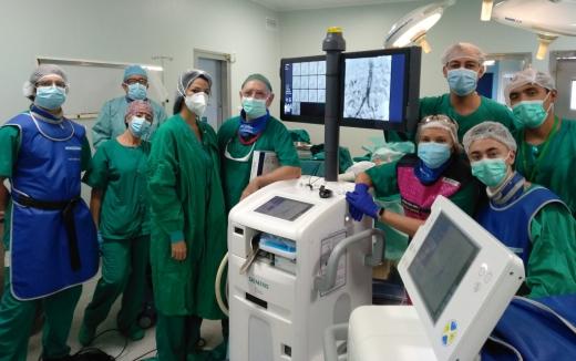 El Hospital Virgen de la Victoria implanta una técnica mínimamente invasiva