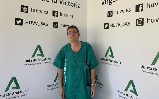 El especialista del Hospital Virgen de la Victoria José Luis Fernández Serrano