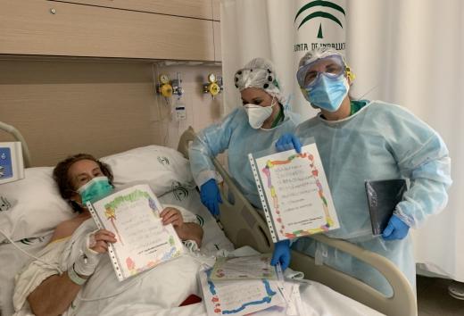 Más de 600 pacientes Covid han podido conectarse con su familia