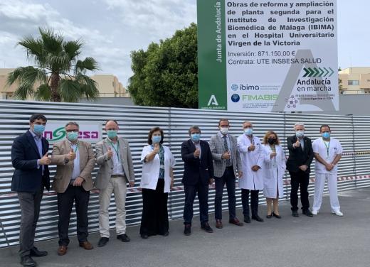 El Hospital Virgen de la Victoria duplicará los espacios para investigación