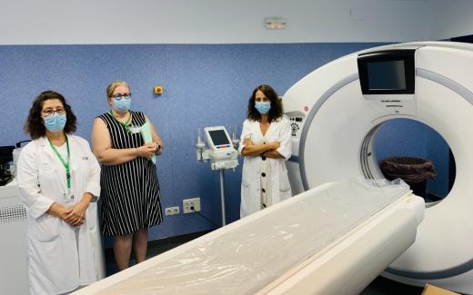 El Hospital Virgen de la Victoria incorpora cuatro nuevos equipos