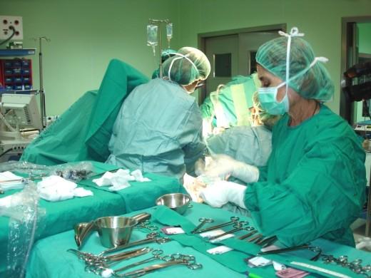 Profesionales del Quirófano de Urología