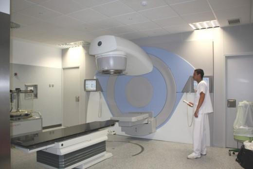 El nuevo acelerador de electrones del hospital