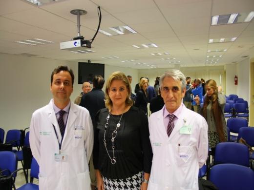 Rosa María Paredes, Hilario López y Eulogio Galiano