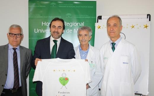 Presentación del proyecto solidario a favor de la Fundación Luis Olivares