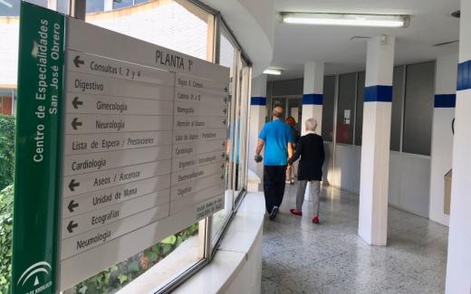 El centro de especialidades San José Obrero