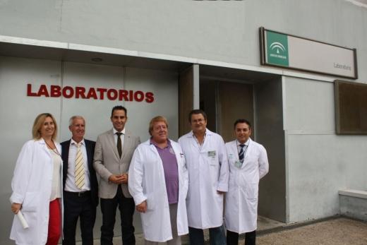 Laboratorio del Hospital Virgen de la Victoria