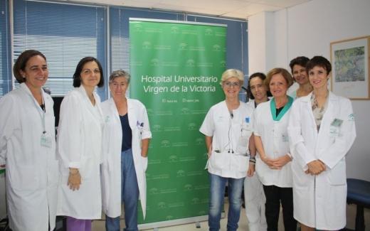 Comisión de Esclerosis Lateral Amiotrófica (ELA) del Hospital Virgen Victoria