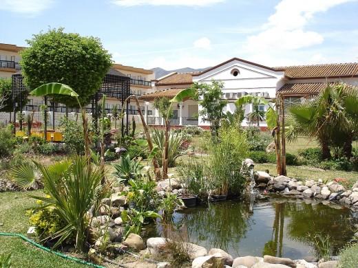 Jardines de la Comunidad Terapéutica del Hospital Marítimo de Torremolinos