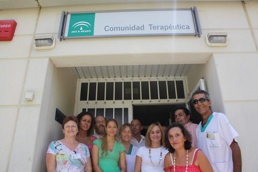 Profesionales de la Comunidad Terapéutica del Hospital Marítimo de Torremolinos