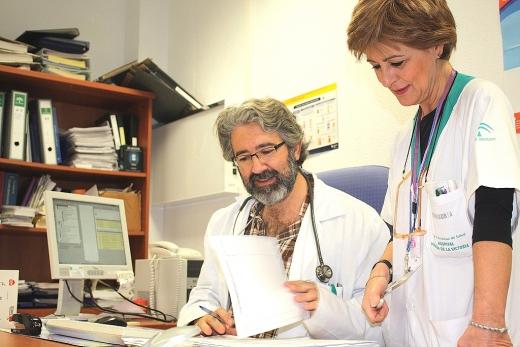 Profesionales en la Consulta de Enfermería de Nutrición