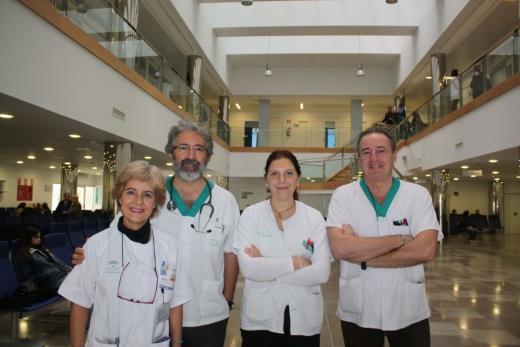 Profesionales de la consulta de nutrición on-line, de la UGCI Endocrimología