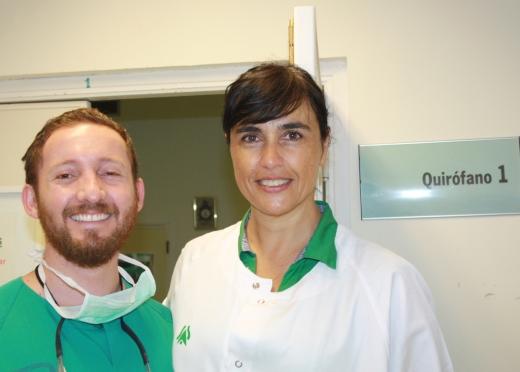 Dr. Daniel Pinos y Dra. Yolanda Aguilar