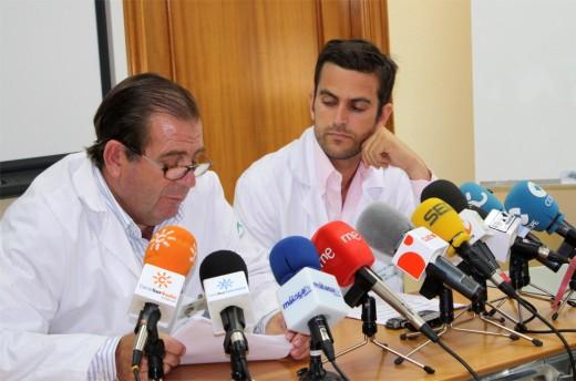 El jefe del Servicio de Dermatología, Enrique Herrera