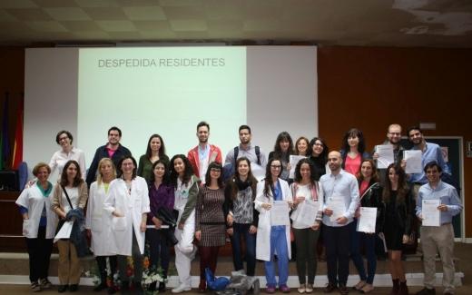 41 nuevos especialistas finalizan su formación en el Hospital Virgen de la Victo