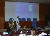 Francisco Cabrera Cobos durante su exposición