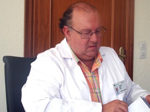 Antonio Pérez Rielo, gerente del Hospital Virgen de la Victoria