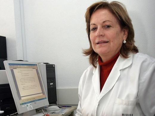 La doctora María Victoria de la Torre