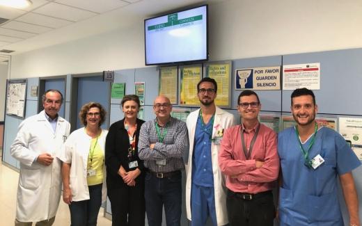 El Hospital Virgen de la Victoria mejora el tránsito de pacientes