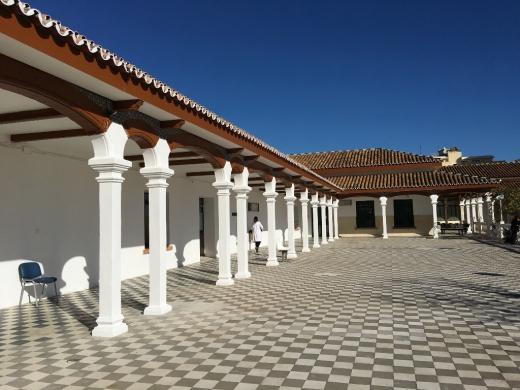 Solarium del Hospital Marítimo de Torremolinos