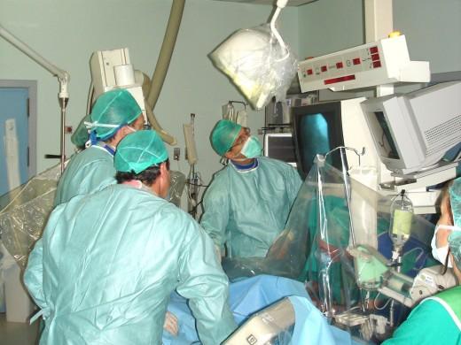 Laboratorio de hemodinámica donde se aplica la técnica