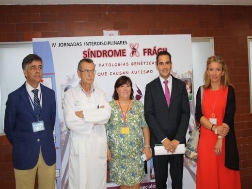 Inaguración de las IV Jornadas sobre Síndrome X Frágil