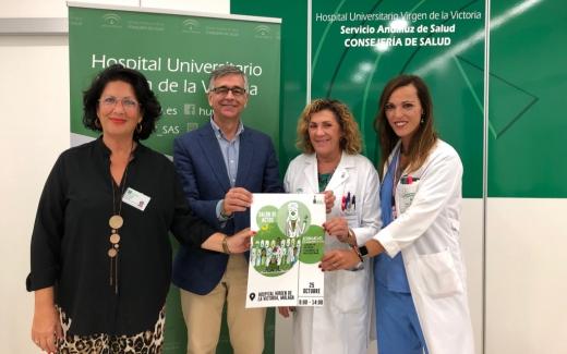 Jornada de humanización en el Hospital Universitario Virgen de la Victoria