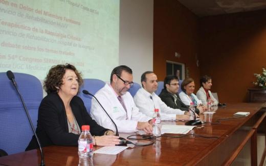 Inaguración de las II Jornadas Malagueñas de Medicina Física y Rehabilitación