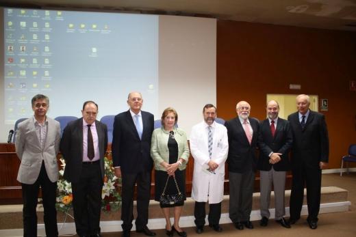 Homenaje a los profesionales recientemente jubilados de la UGC de Corazón