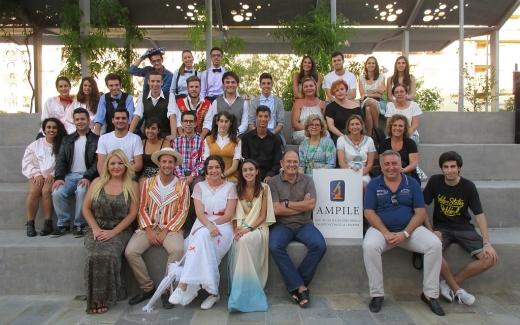 Alumnos del conservatorio malagueño Manuel Carra