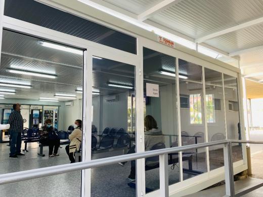 Nueva sala de espera de Urgencias