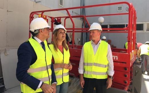 Hospital Virgen de la Victoria inicia las obras para la adecuación de espacios