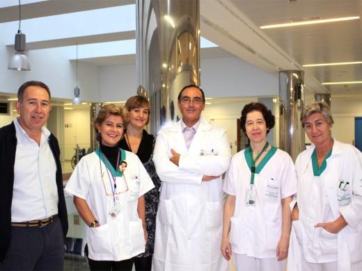 En la foto Alonso Montiel, Rosalía Rioja, Marina Gómez, Antonio González