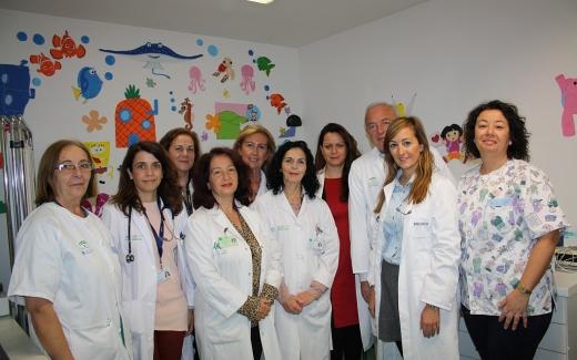 Equipo de profesionales de Cuidados Paliativos Pediátricos del Hospital Materno