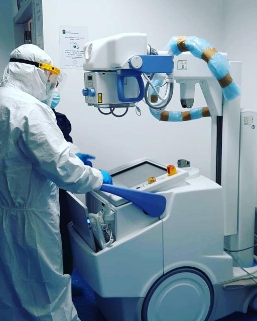 Hospital Virgen de la Victoria incorpora un nuevo equipo portátil de radiología