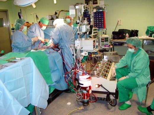 Profesionales de la Unidad de Cirugía Cardíaca