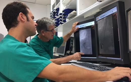 Radiología Vascular Intervencionista del Hospital Virgen de la Victoria