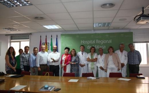 Responsables de los biobancos de Málaga