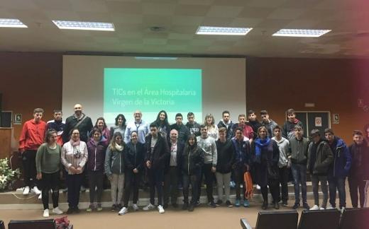 Alumnos de Formación Profesional de Granada, Córdoba y Cádiz visitan el Hospital
