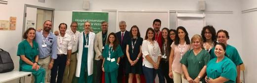 Profesionales del área de Endoscopia Digestiva del Hospital