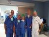 Realizada con éxito en Málaga la primera donación pulmonar de un donante en para