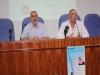 Acto inaugural con el director de enfermería de los hospitales públicos de Málag