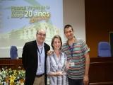 Joaquín Barranco, Olga Bernal y Juan José Díaz